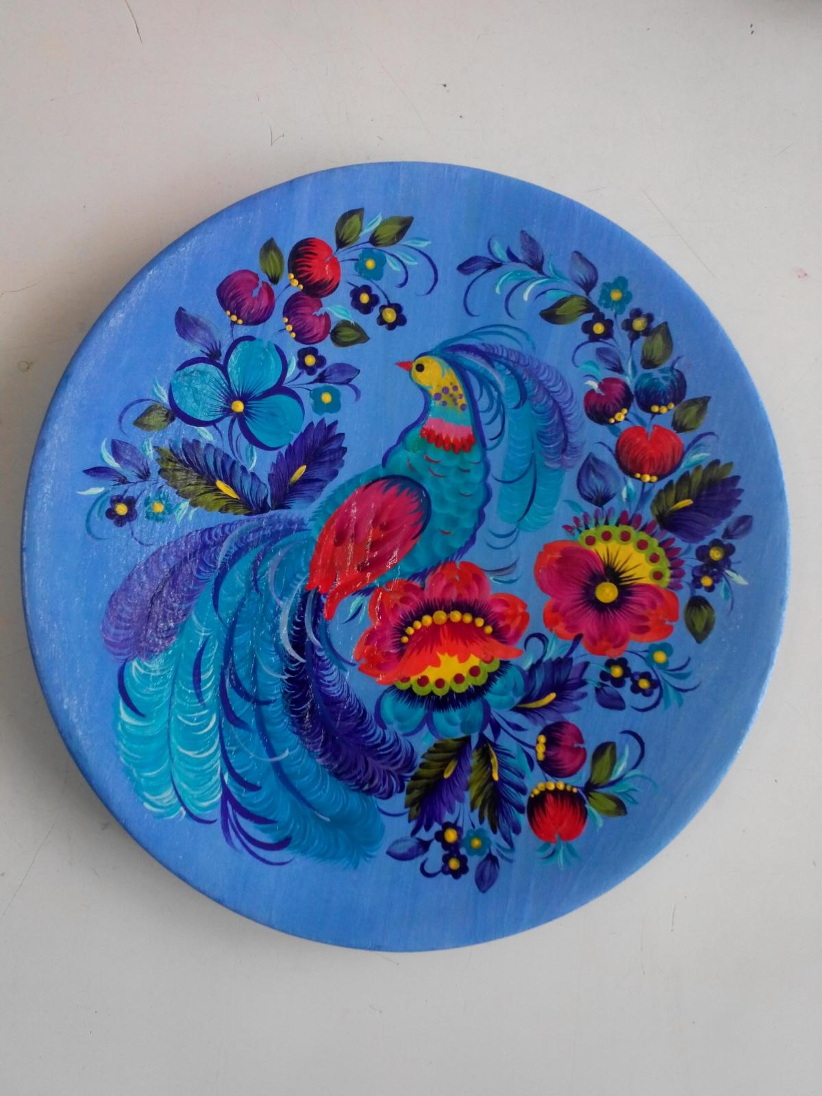 Автор: Оксана Гурджиян, тарелка.