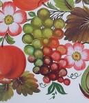 В.Тезик золота осінь 1985 р. виноград. Петриковская роспись.