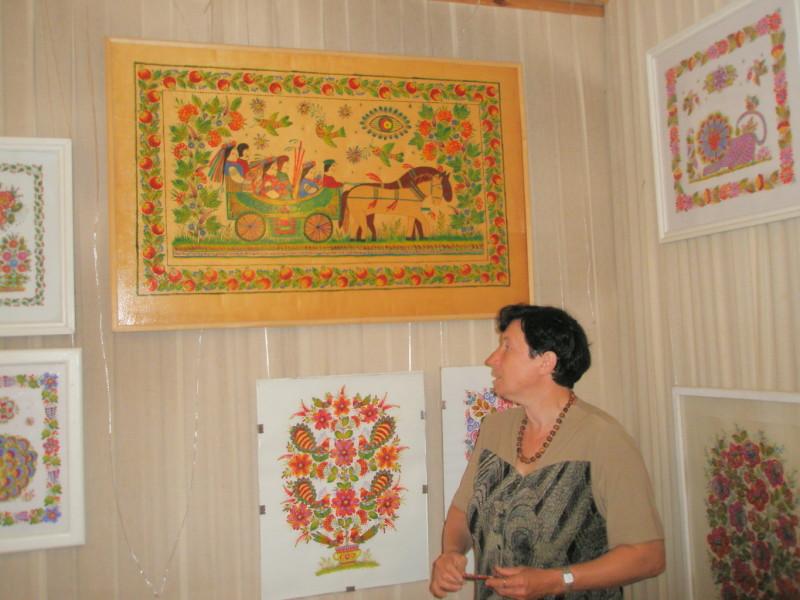Экскурсия в музее с. Петриковка