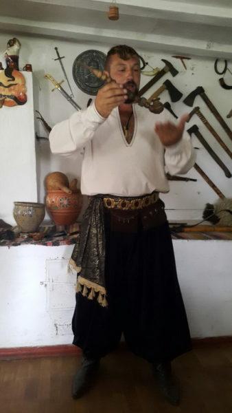 """Этно-хутор """"Козацька Січ"""", музей."""
